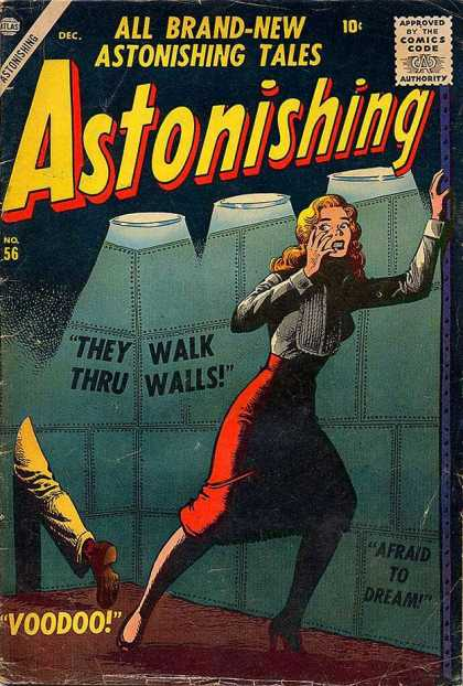 Astonishing 56 - Brand New - Tales - Walls - Voodoo - Afraid To Dream