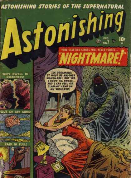 Astonishing 7 - Supernatural - Nightmare - Death - No 7 - December