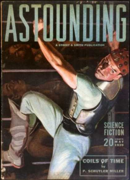Astounding Stories 102 - Coils Of Time - Dead Bodies - Human - Armour - Laboratory