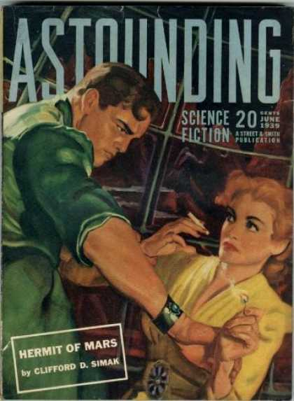 Astounding Stories 103 - Science Fiction - June 1939 - Street U0026 Smith Publication - Clifford D Simak - Hermit Of Mars