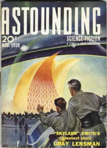 Astounding Stories 108 - November 1939 - 20 Cents - Skylark Smiths Greatest Story - Lenson - Dome