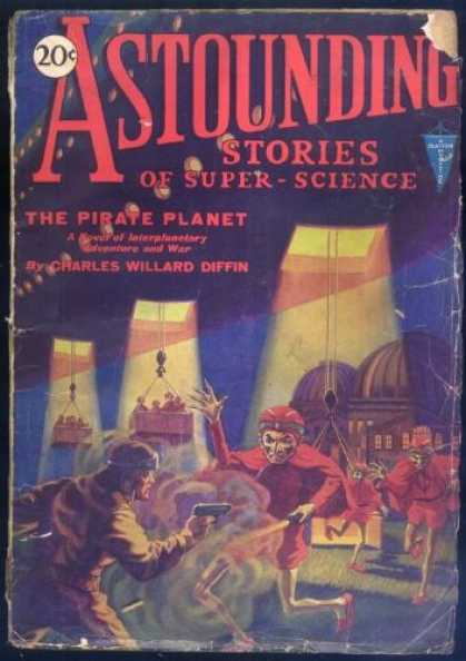 Astounding Stories 11 - Ufo - Planet - Aliens - Soldier - Attack