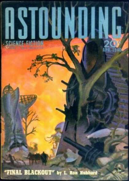 Astounding Stories 113 - Tree - Final Blackout - L Ron Hubbard - Crash - Airplane
