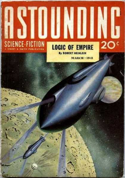 Astounding Stories 124 - Space Ship On The Run - Outside World - Beauty Of The Moon - Spaces Of Earth And Moon - On The Go Space Ship