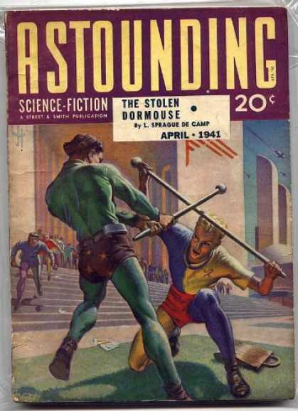Astounding Stories 125 - Science-fiction - April 1941 - Dueling - Steps - Business
