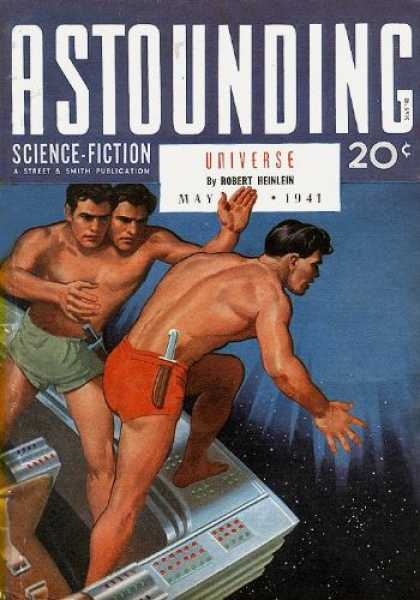 Astounding Stories 126 - Universe - May 1941 - Space - Men - Two Heads