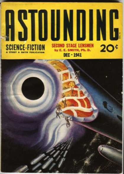 Astounding Stories 133 - December 1941 - Dec 1941 - Science Fiction - Second Stage Lensmen - E E Smith Ph D