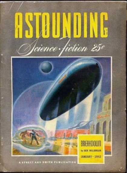 Astounding Stories 134 - Breakdown - Dirigible - Williamson - January 1942 - 25 Cents