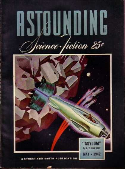 Astounding Stories 138 - Space - Asylum - May 1942 - Planet - Shuttle