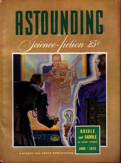 Astounding Stories 139 - June 1942 - Military - Prisioner - Control Station - Scared
