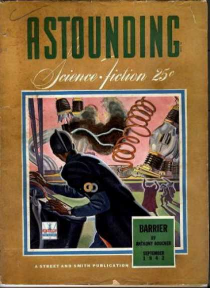 Astounding Stories 142 - Science Fiction - Barrier - Anthony Bouchen - Spring - Light Bulb