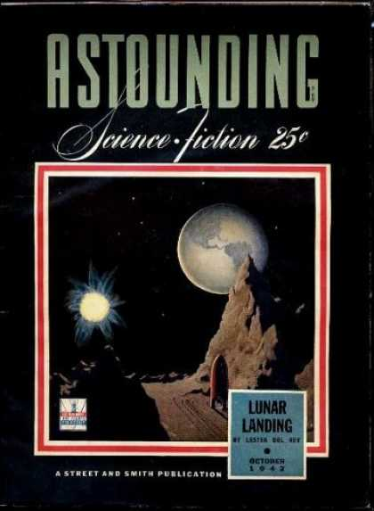 Astounding Stories 143 - Mars - Lunar Colony - Moons - Space Ship - Explorations
