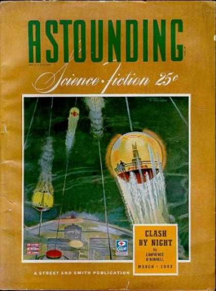 Astounding Stories 148 - Science Fiction - March 1943 - Short Stories - Golden Age Science Fiction - Classic Science Fiction Short Stories
