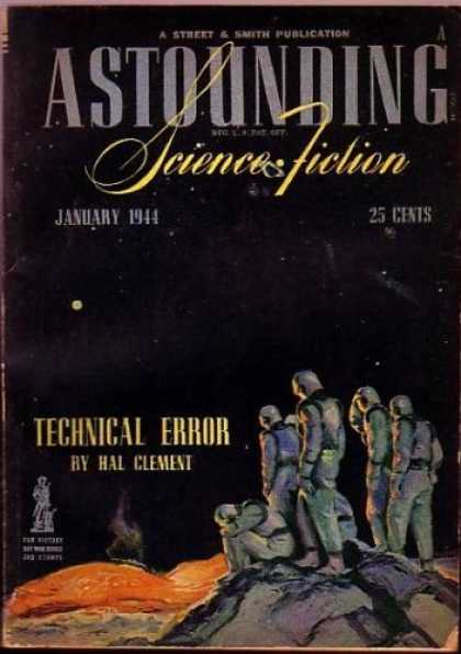 Astounding Stories 158 - 25 Cents - January 1944