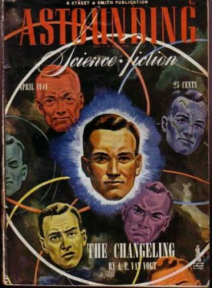 Astounding Stories 161 - Disembodied Heads - 25 Cents - The Changeling - Van Vogt - Orbits