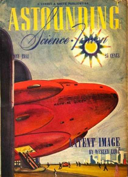 Astounding Stories 162 - Latent Image - Wesley Long - 1944 - Sci-fi - Rocket