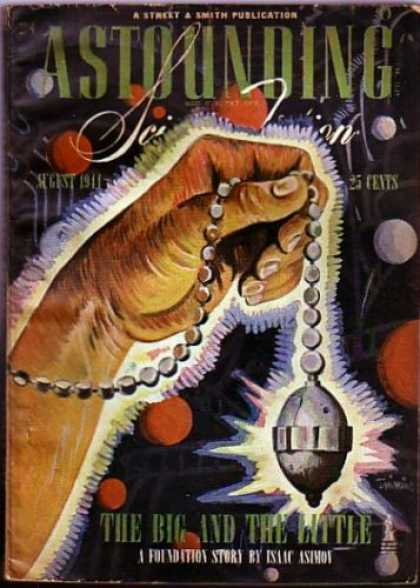 Astounding Stories 165 - The Big - The Little - The Big And The Little - August 1911 - Smith Publication