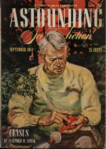 Astounding Stories 166 - Antique - Contemplation Of Things Not Readily Understood - Space Guns - Hidden Treasures Amongst The Trees - Old Man