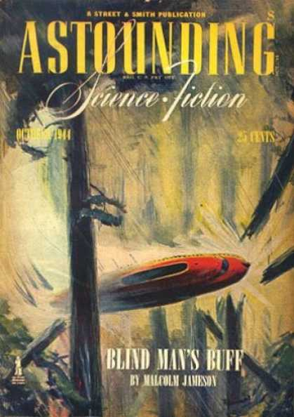 Astounding Stories 167 - Science Fiction - October 1944 - Blind Mans Buff - Forest