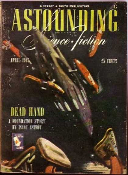 Astounding Stories 173 - Dead Hand - April 1945 - Space - Shuttle - Capsules