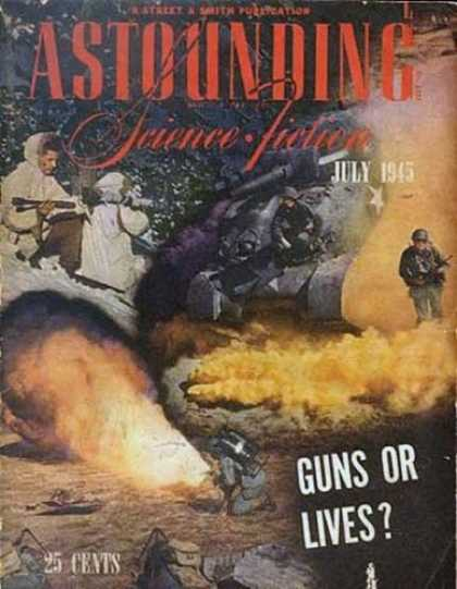 Astounding Stories 176 - War - Solgiers In Battle - Staying Alive - Tanks - Ultimate Cost