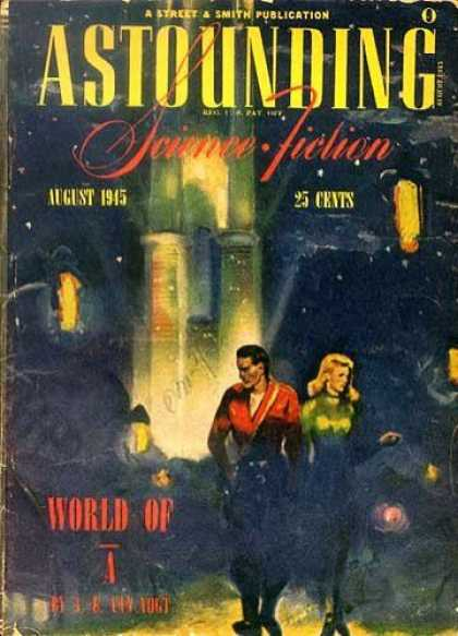 Astounding Stories 177 - August 1945 - World Of 4 - Humans - Space - Space Craft