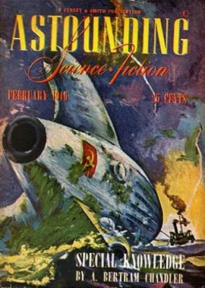 Astounding Stories 183 - February 1946 - Special Knowledge - Hammer And Sickle - Space Ship - A Bertram Chandler