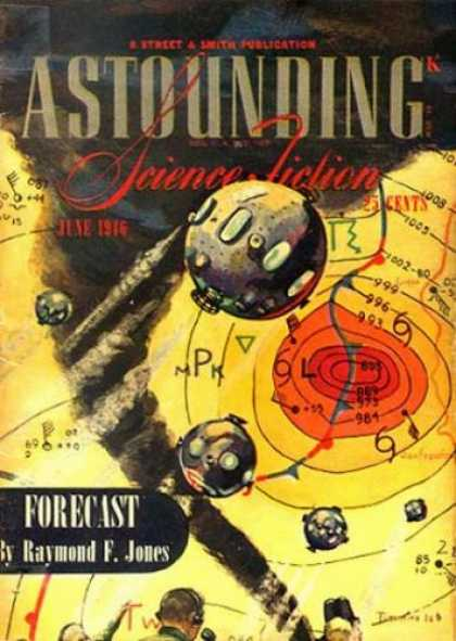 Astounding Stories 187 - Astounding - Science Fiction - June 1916 - Forecast - Raymond F Jones