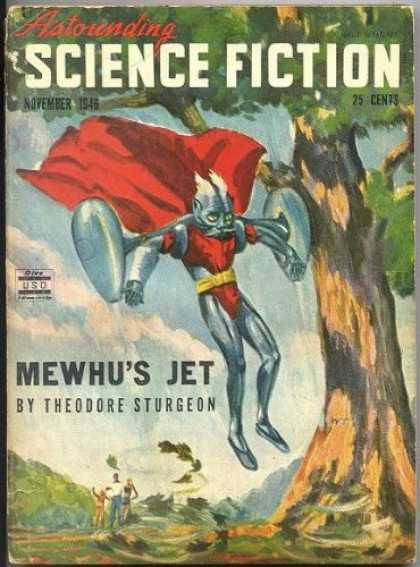 Astounding Stories 192 - November 1946 - 25 Cents - Red Cape - Mewhus Jet - Sturgeon