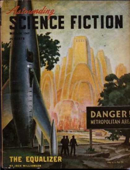 Astounding Stories 196 - Danger - Rocket - Equalizer - The Equalizer - March 1947