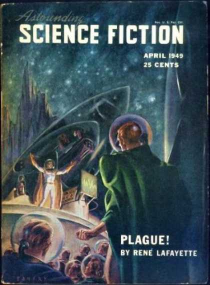 Astounding Stories 221 - Plague - April 1949 - Science Fiction - Rene Lafayette - 1949