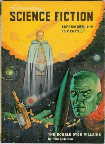 Astounding Stories 226 - Cloak - Sun - Planets - Stars - Space