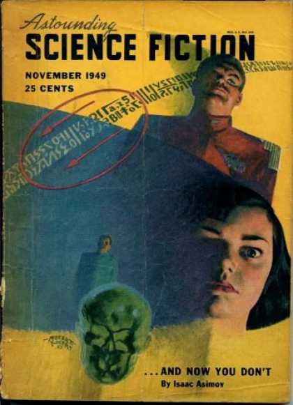 Astounding Stories 228 - Arrows - Girl - Science Fiction - November 1949 - And Now You Dont