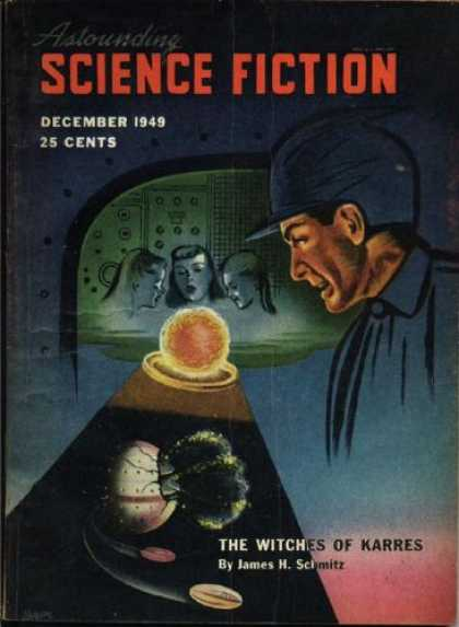 Astounding Stories 229 - December 1949 - The Witches Of Karres - James H Schmitz - Women - Spacecraft