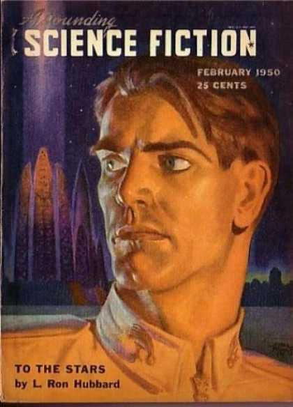 Astounding Stories 231 - L Ron Hubbard - To The Stars - Science Fiction - February 1950 - Space