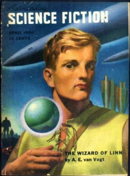 Astounding Stories 233 - The Wizard Of Linn - April 1950 - Capsules - Young Man - Shuttle