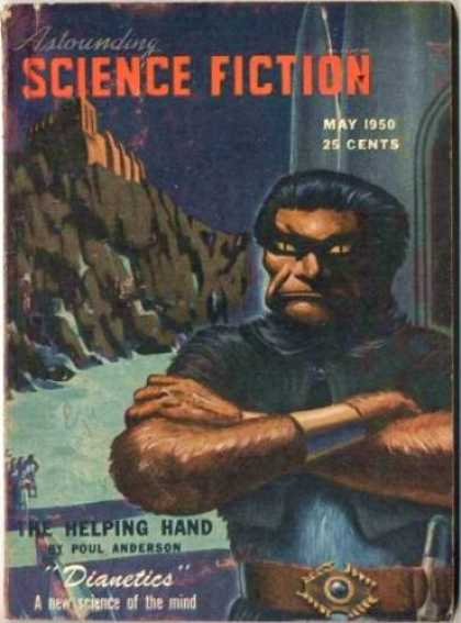 Astounding Stories 234 - The Helping Hand - Dianetics - Science Of The Mind - May 1950 - Poul Anderson