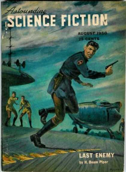 Astounding Stories 237 - 25 Cents - Military Men - Last Enemy - Piper - August 1950