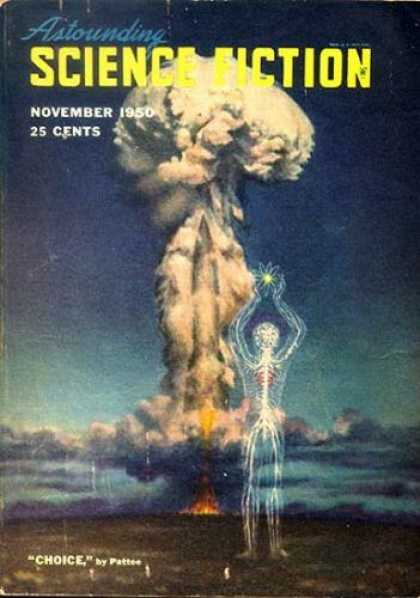 Astounding Stories 240 - Sci-fi - November 1950 - Choice - Atom Bomb - Nuclear Explosion