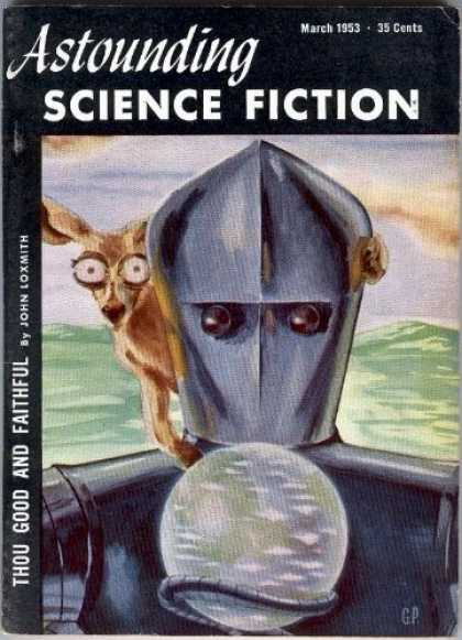 Astounding Stories 268 - Deer - Robot - Fear - Crystal Ball - Field