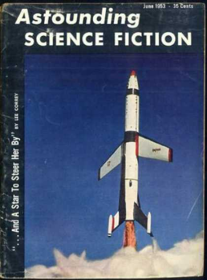Astounding Stories 271 - Stars - Science Fiction - June 1953 - Space - Space Shuttle