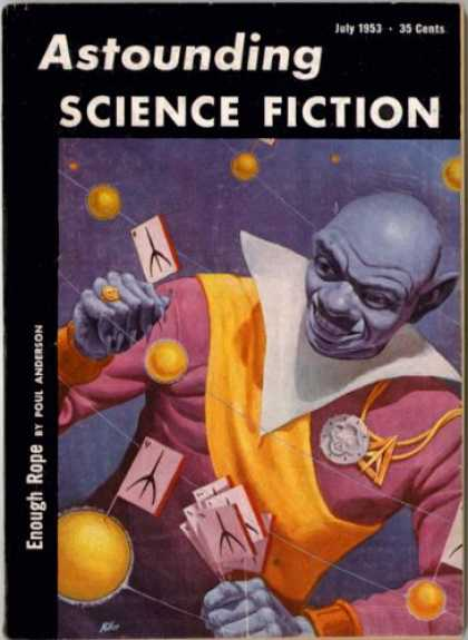 Astounding Stories 272 - Enough Rope - Poul Anderson - Science Fiction - July 1953 - The Jester