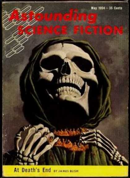 Astounding Stories 282 - May 1954 - 35 Cents - At Deaths End - By - James Blish