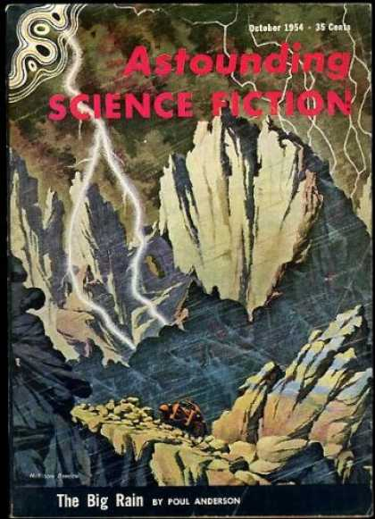 Astounding Stories 287 - Poul Anderson - October 1954 - Astounding - Science Fiction - The Big Rain