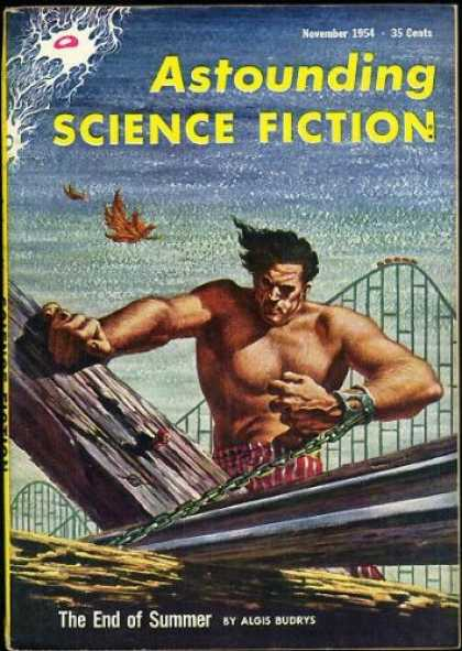 Astounding Stories 288 - Astounding - Science Fiction - The End Of Summer - Algis Budrys - November 1954