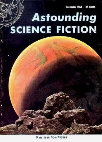 Astounding Stories 289 - Mars - Phobos - Planet - December 1954 - Space