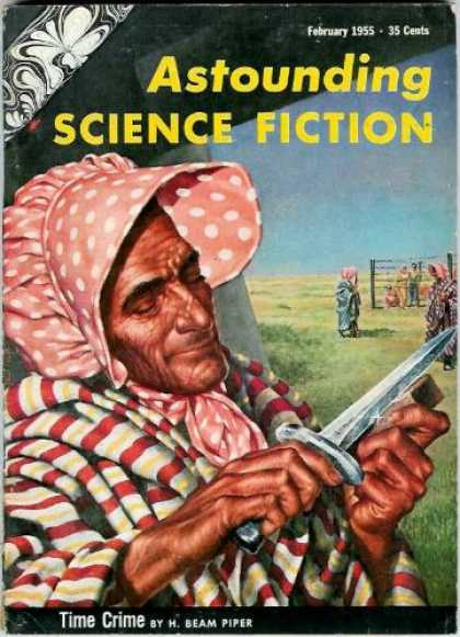 Astounding Stories 291 - Knife - Dagger - Disguise - Hide - Dress