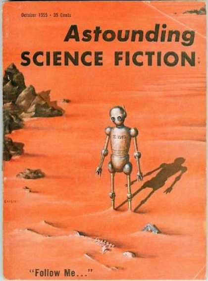 Astounding Stories 299 - Robot - Moon - Rocks - Allien - Meet