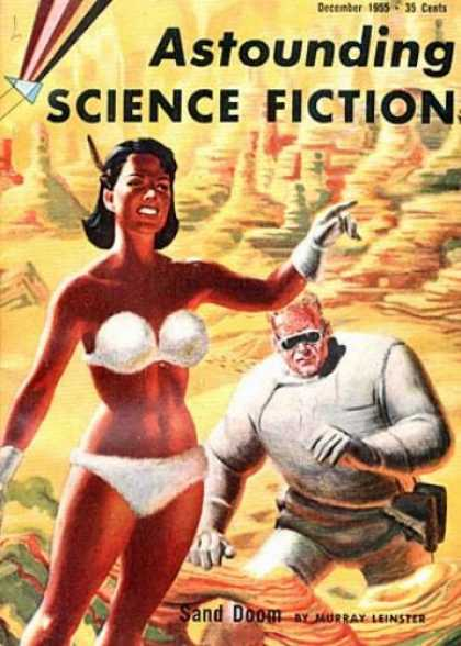Astounding Stories 301 - Science Fiction - Astounding - December 1955 - Sand Doom - Murray Leinster