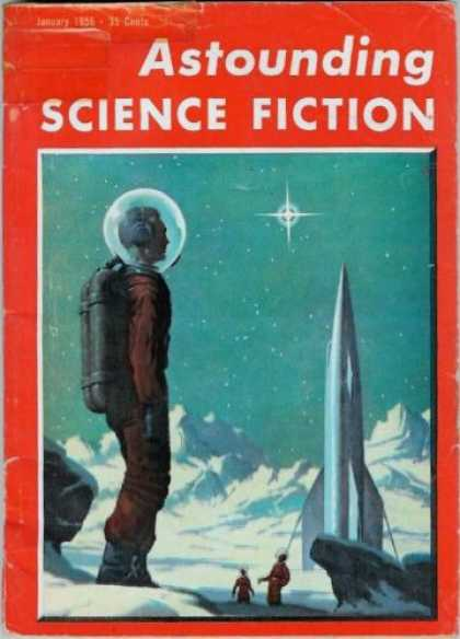 Astounding Stories 302 - Ice - January 1956 - Planet - Space - Astronaut